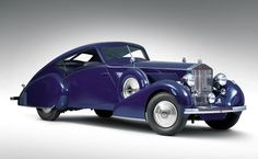 1937 Rolls-Royce Phantom III Aero Coupe