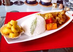 West African rice and stew