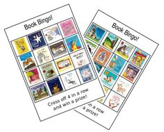 A free set of 16 bingo cards and a caller's card set to download - themed around children's picture books. Perfect for World Book Day or Children's Book Week