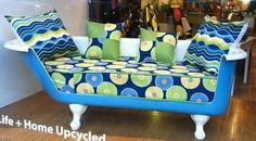 Sofas originaux, les baignoires canapés !