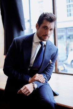 #New David Gandy for Henry Poole & Co by Philip Panting