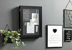 ramka/gablotka na zdjęcia/inne GODFRED, szer. My First Apartment, Desk Space, Little Things, Wall Decor, Black And White, Interior, Rich Woman, Inspiration, Home Decor