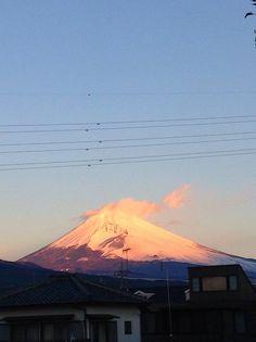 Mt.Fuji 富士山 1/1/2015 (Shizuoka Japan 静岡県裾野市) 迎春 謹賀新年 初日の出 Happy New Year!