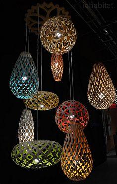 david-trubridge-flat-pack-coral-pendant-lamps-2 | Flickr - Photo Sharing!