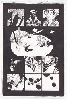 Batman / Broken City par Eduardo Risso, Brian Azzarello - Planche originale