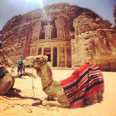 The Treasury in Wadi Musa