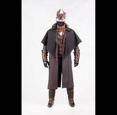 Hunter cosplay costume garb from Bloodborne video game Attire