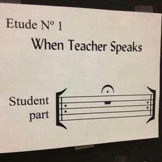 Rules for the Choir classroom