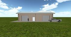 Cool 3D #marketing http://ift.tt/2sUptOe #barn #workshop #greenhouse #garage #roofing #DIY