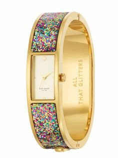 multi glitter carousel, watch/bracelette thing, $250.00