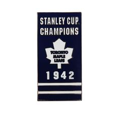 This highly collectible and hand-crafted enamel lapel pin is a must have for a true fan! The Stanley Cup® Banner Series is inspired by the flags that hang victoriously from the NHL® arenas' rafters. Hockey Mom, Hockey Teams, Hockey Girls, Hockey Players, Ice Hockey, Pittsburgh Penguins Hockey, Stanley Cup Champions, Pin Logo, Toronto Maple Leafs