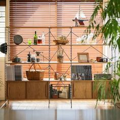 Muji Home, Cool Furniture, House Furniture, Interior Styling, Shelving, Bookcase, New Homes, Living Room, Architecture