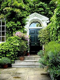 Secret garden doorway.
