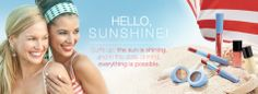 See the NEW spring/summer trend Limited-Edition† Mary Kay® Hello, Sunshine! Collection.