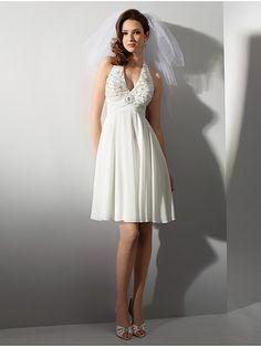 short holter neck wedding dress patterns - Google Search