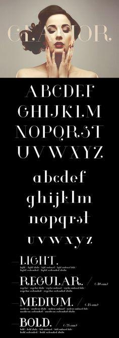Glamor – Chic & Modern Free Type Family