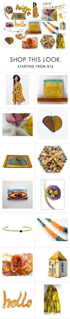 """Great Gift Ideas on Etsy"" by anna-recycle ❤ liked on Polyvore featuring NOVICA, modern, rustic and vintage"