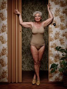 Be comfortable in your own skin at any size and any age. (Photography by Erwin Olaf)