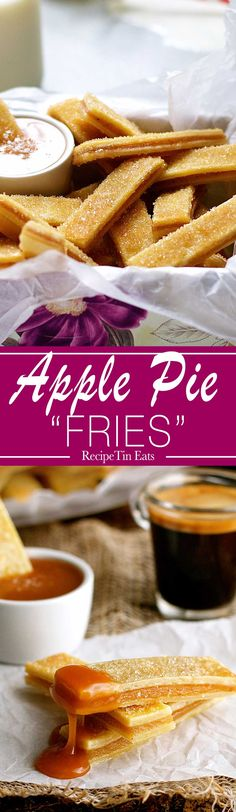 """Apple Pie """"Fries"""" 