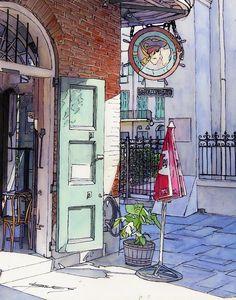 Pirates Alley 161 Canvas Print / Canvas Art by John Boles