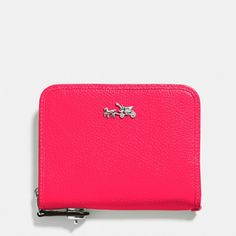 The C.o.a.c.h. Medium Continental Wallet In Leather from Coach 52789