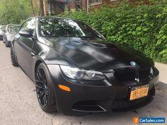 2011 BMW M3 FROZEN BLACK #bmw #m3 #forsale #unitedstates