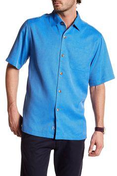 San Clemente Original Fit Silk Camp Shirt