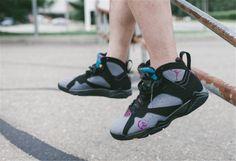 2ca43567af0 Air Jordan 7 Bordeax for Women Very nice shoes