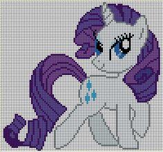 Cross Stitch Pattern Rarity Pony