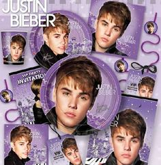 NEW Justin Bieber party pattern #justinbieberparty