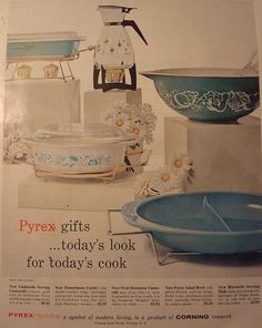 "Why oh why did they ever stop making this stuff? I get that it is nearly indestructible, and that ""back then"" once people bought it, they didn't really buy it again because of that, but didn't Pyrex think that future generations of households would never want any of their own? :("