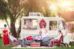 This post is so stinkin' cute!  Sophisticated circus themed wedding shoot.   http://ruffledblog.com/whimsical-circus-wedding-ideas/