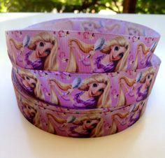 Disney Rapunzel 7/8  Grosgrain Ribbon by OliverandMay on Etsy, $3.49