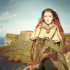 20 Ideas For Hair Red Braids Viking Larp, Vikings, Character Inspiration, Character Design, Fantasy Costumes, Portraits, Medieval Fantasy, Fantasy Characters, Faeries