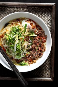 MIGHT AS WELL CALL IT, A-MAZEMEN The stock-technique of Japanese pork-based soup ramen will conflict everything you think you know about making stocks, that's if you were French at least. Forget what you know about low-and-slow of a bare simmer aiming at a clear stock... #broth #chashu #cheese