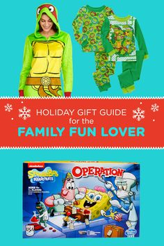 Holiday Gift Guide for the Family Fun Lover: Nick Jr. and Nickelodeon gift ideas that are fun and bring the family together!