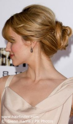 """Wedding hair ideas...another pinner said"""" love hidden braids- adds texture and spunk to a classic up do"""""""