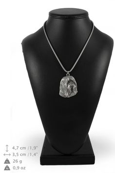 NEW Schnauzer uncropped silver hallmark 925 by ArtDogshopcenter Horse Necklace, Silver Chain Necklace, Silver Necklaces, Dog Tag Necklace, Schnauzer, Irish Wolfhound Dogs, Bearded Collie, Rough Collie, Jack Russell Terrier
