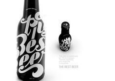 The Best Beer Lettering and Packing by Renan Vizzotto, via Behance