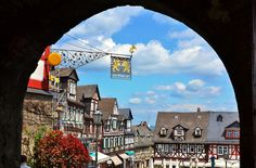 The beautiful city of Braunfels in Hesse, Germany