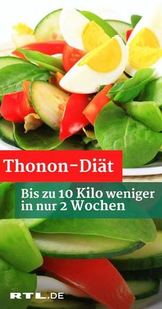 Lose weight with the Thonon diet: RTL reporter Linda does the Abnehmen mit der Thonon-Diät: RTL-Reporterin Linda macht den Veggie-Selbstversuch 10 kilos in 2 weeks – sounds great, but requires iron discipline! This is how the Thonon diet works. Diet And Nutrition, Paleo Diet, Keto, Fat Burning Drinks, Fat Burning Foods, Low Glycemic Diet, Lactose Free Diet, Menu Dieta, Diet Recipes