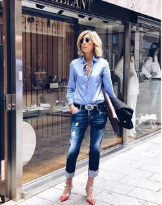 Perfect Outfit Ideas Formal You Will Love Casual Chic, Casual Wear, Casual Outfits, Mode Outfits, Fashion Outfits, Womens Fashion, Fashion Trends, Fashion Over 40, Look Fashion