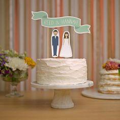 60 topos de bolo de casamento 2017: para todos os gostos! Image: 52