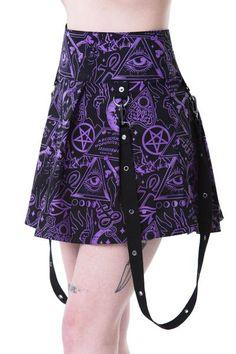 Miss Morbid Mini Skirt [B]