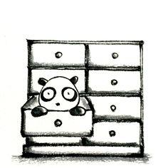 【一日一大熊猫】 2015.5.16 大切なものは、しまいこんじゃダメだな。 #pandaJP http://osaru-panda.jimdo.com