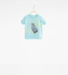 Polka dot printed T-shirt-View all-T-SHIRTS-BABY BOY | 3 months - 4 years-KIDS | ZARA Hungary