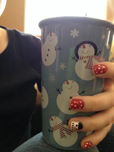 Christmas nails 2013!