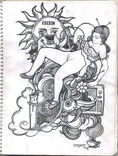 tinta sobre papel 2012 by ugo