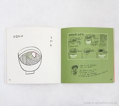 YOCCI'S MENU // illustrated recipe book for Japanese cooking
