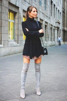 9be9176ec1e 10 Best How to wear Over-Knee Boots images